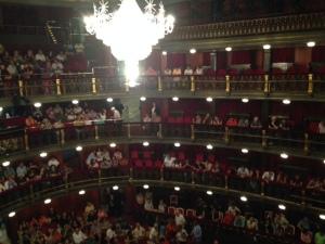 Teatro Español interior
