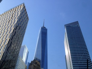 One World Trade Center, the highest building in NY